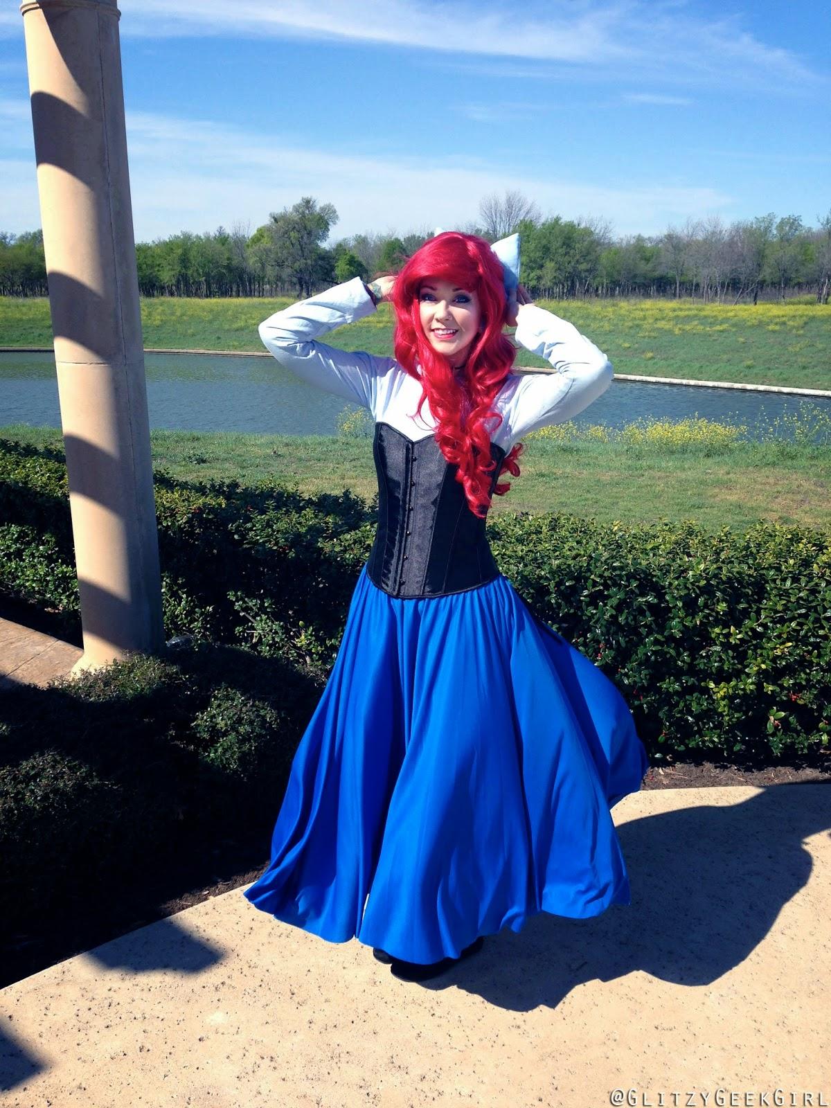 5e940956f6e81 OMGLITZY  Tutorial  The Little Mermaid Ariel Cosplay