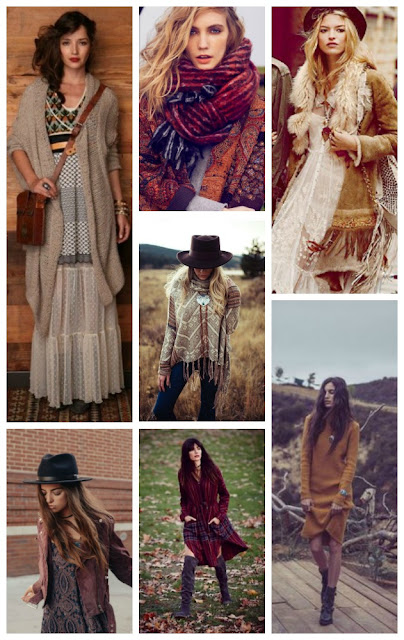 Autumn Bohemian Fashion Inspiration