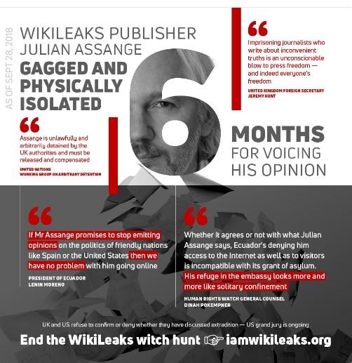Wikileaks Updates 29 Sept. 2018 - #Wikileaks: new info on arms industry corruption/war in #Yemen, #Z...