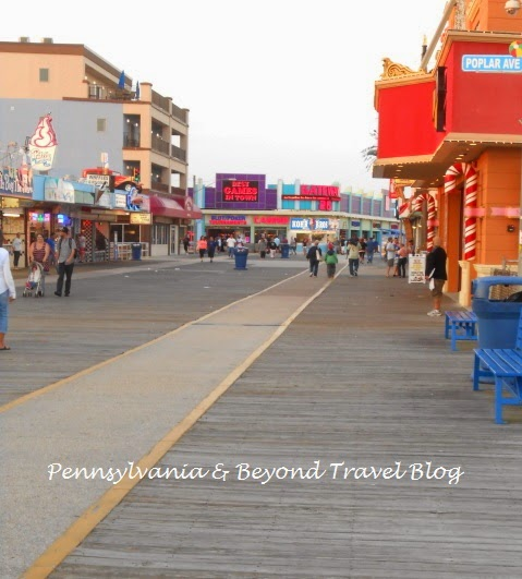 The Exciting and Fun Wildwood Boardwalk in New Jersey