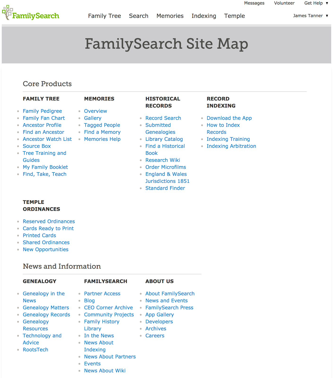 Rejoice, and be exceeding glad   : FamilySearch Labs disappears