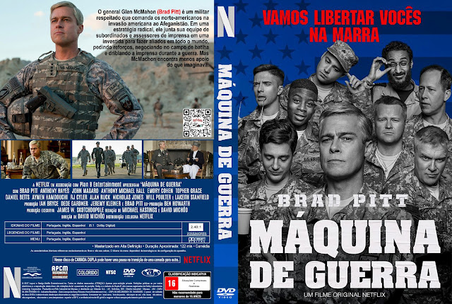 Capa DVD Máquina de Guerra [Custom]