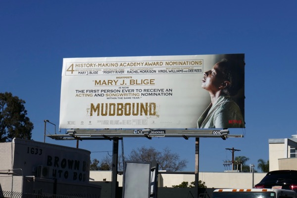 Mary J Blige Mudbound Oscar billboard