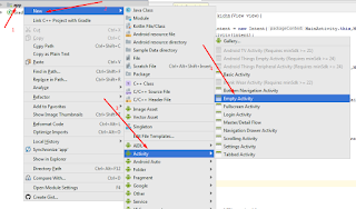 Android studio open new activity on button click in android by existing activity Screenshot_55