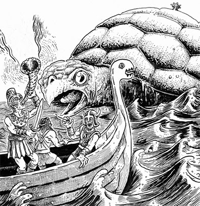 Power Score: The Sea Queen Escapes - Dungeon Crawl Classics RPG