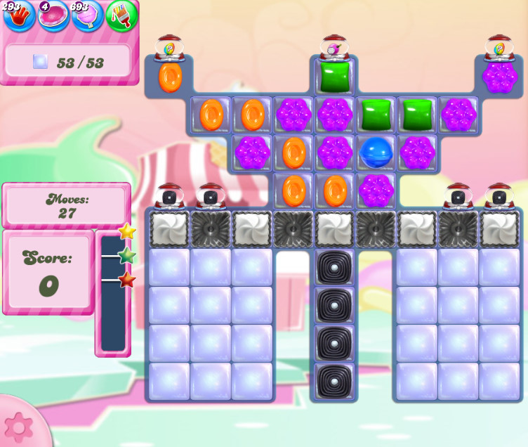 Candy Crush Saga level 2806