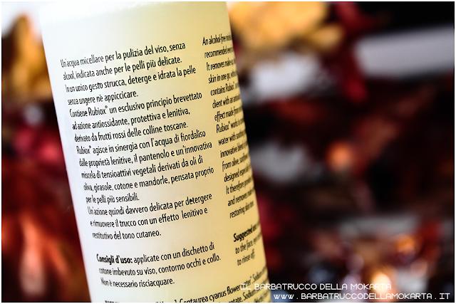 cosmesi bio acqua micellare frutti rossi biofficina toscana recensione