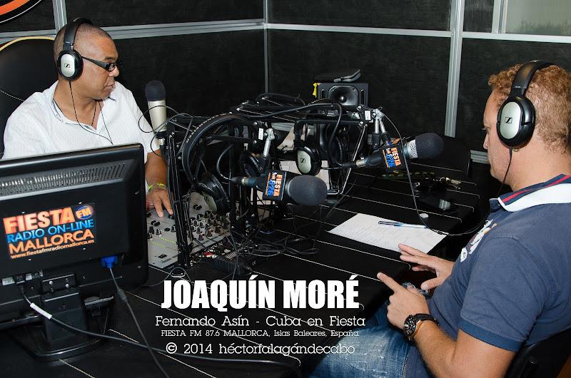 Joaquín Moré. Programa Cuba en Fiesta conducido por Fernando Asín. Héctor Falagán De Cabo | hfilms & photography.