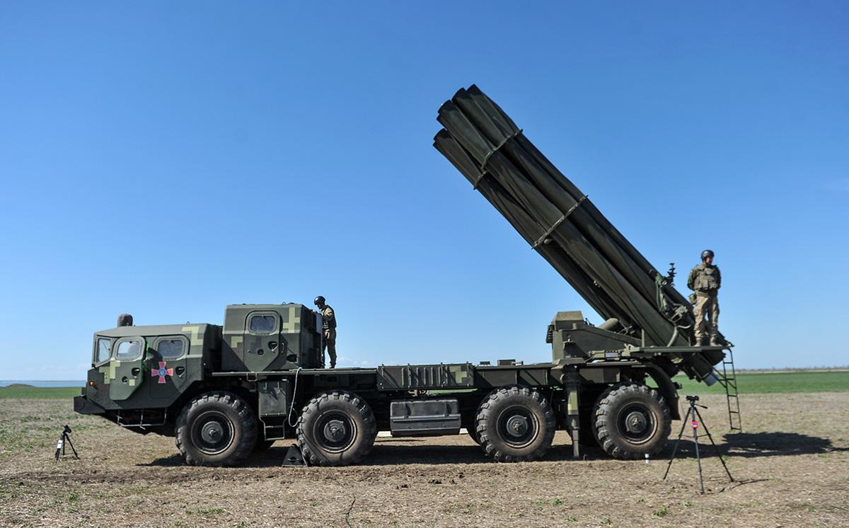 Модернізований ракетний комплекс Вільха-М стріляє на 130 км