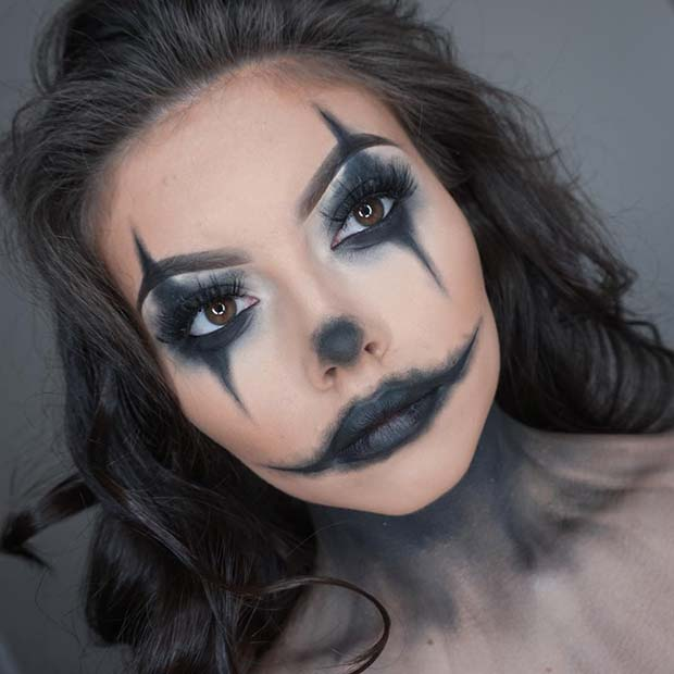 26 Trendy And Amazing Halloween Costumes By Scarecrow Makeup Fashionuki