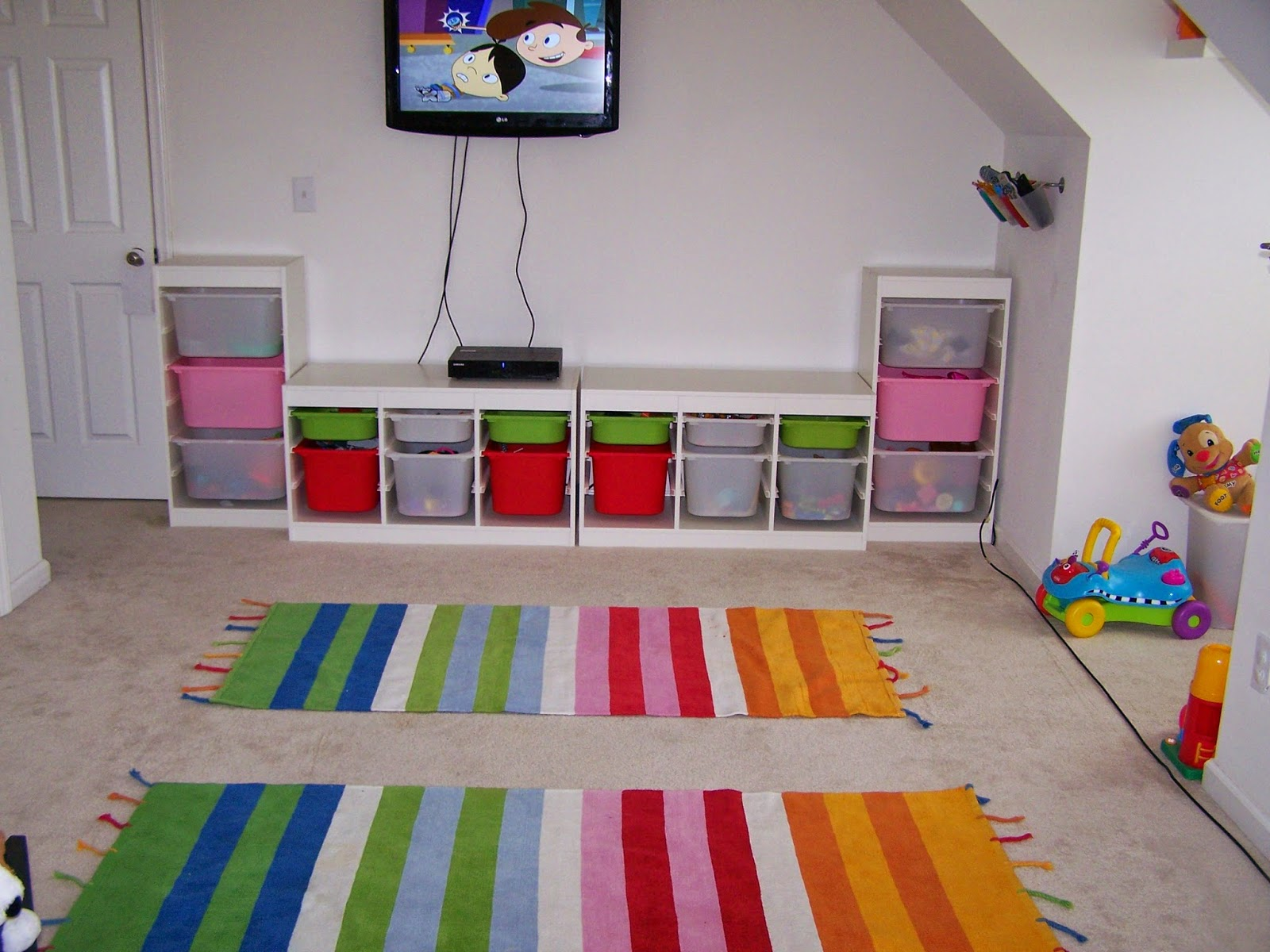 Rainbow Kids Rooms Foundation Dezin And Decor Rainbow Room For Kids
