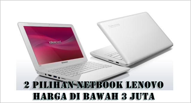 Ilustrasi Netbook Lenovo Layar 11,6 Inci