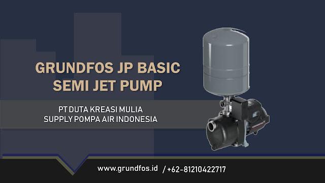 Katalog Pompa Grundfos JP Basic Semi Jet Pump