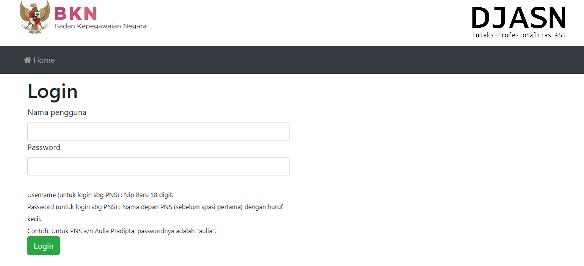 Cara Login dan Petunjuk Pengisian Indeks Profesionalitas ASN CARA LOGIN DAN PETUNJUK PENGISIAN INDEKS PROFESIONALITAS ASN DI LAMAN https://ip-jasn.bkn.go.id/login