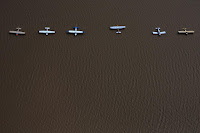 Planes are surrounded by flood waters caused by Tropical Storm Harvey at the West Houston Airport in Texas, U.S. August 30, 2017. (Credit: Reuters/Adrees Latif/File Photo) Click to Enlarge.