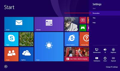 Cara Mengganti Tampilan Start Screen Windows 8.1 12