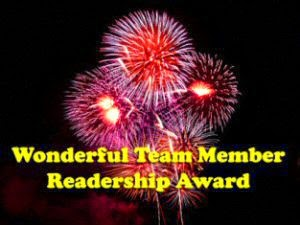 Wonderful Team Member Readers Award