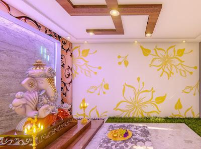 pooja room ideas in living room