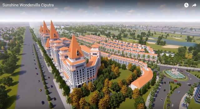 Phối cảnh dự án Sunshine Wonder Villas Ciputra