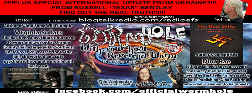 Guest on Wormhole Radio 4-12-17