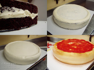 How to make Pizza Cake