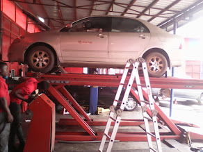 BRING YOUR VEHICLES TO MEECHEAL EXCELS FOR WHEEL ALIGNMENT & BALANCING