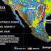 Se prevén vientos fuertes en gran parte de México