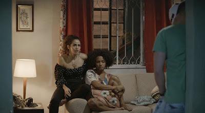 Filhos ficam em choque com a notícia — Foto: TV Globo