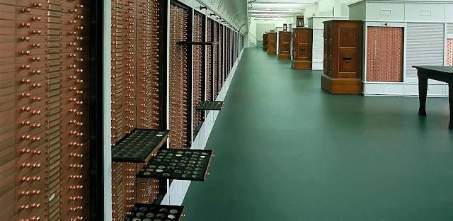 Bóveda del gabinete numismático de Berlín