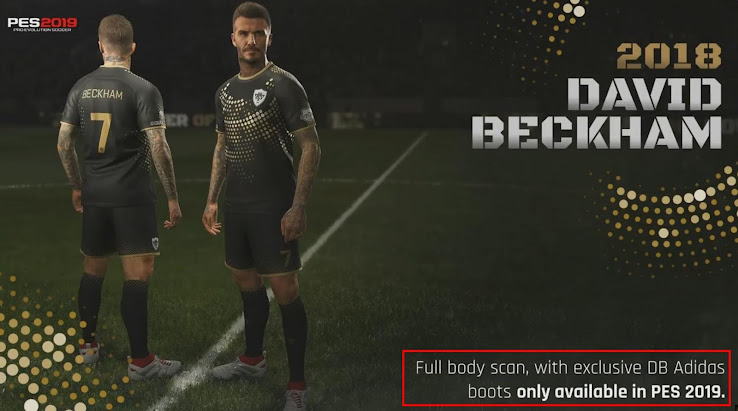 Konami Confirms: 'Leaked' Beckham Boots Exclusive to PES