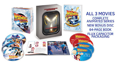 Back to the future 30th anniversary Blu-ray set