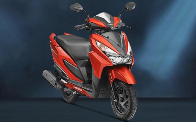 Dimesin dan desain Honda Grazia