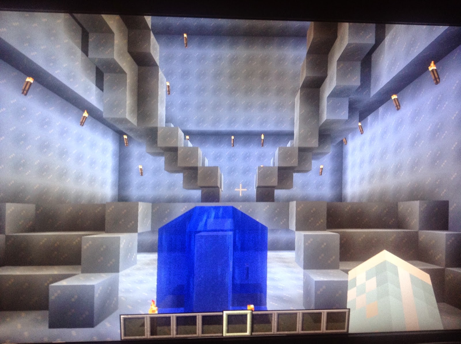 Taryn S Travels My Minecraft Ice Castle I show you how to get ice blocks in minecraft. taryn s travels blogger
