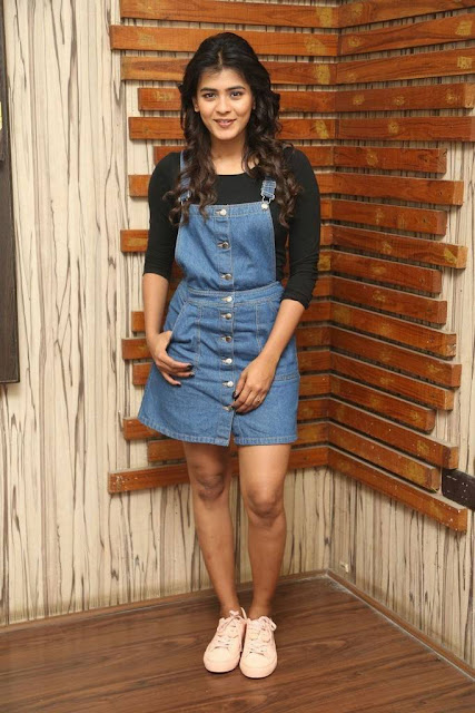 Hebah Patel Stills At Nanna Nenu Naa Boyfriends Interview