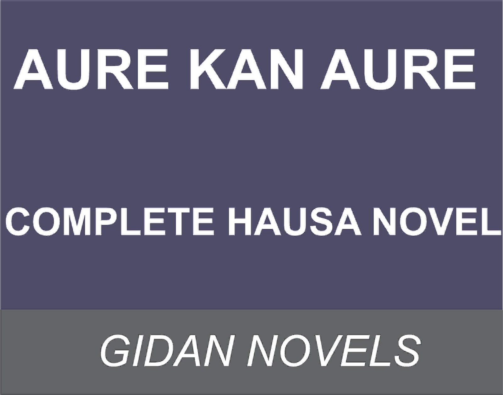 By billupsforcongress Hausa Books txt