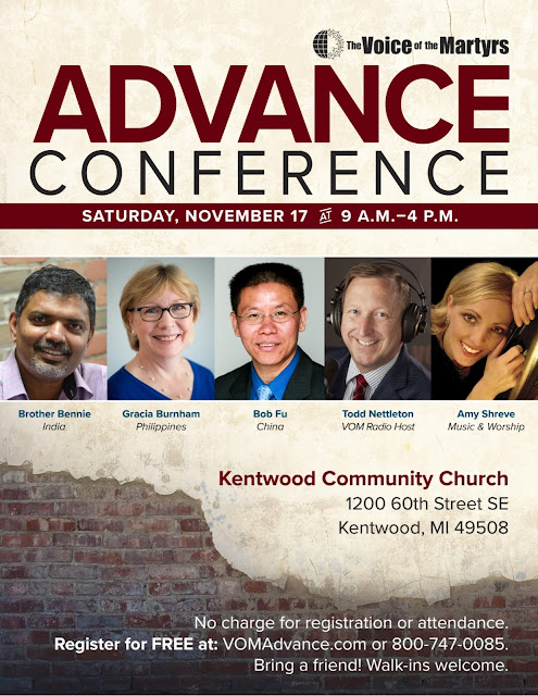 The Voice of the Martyrs Advance Conference