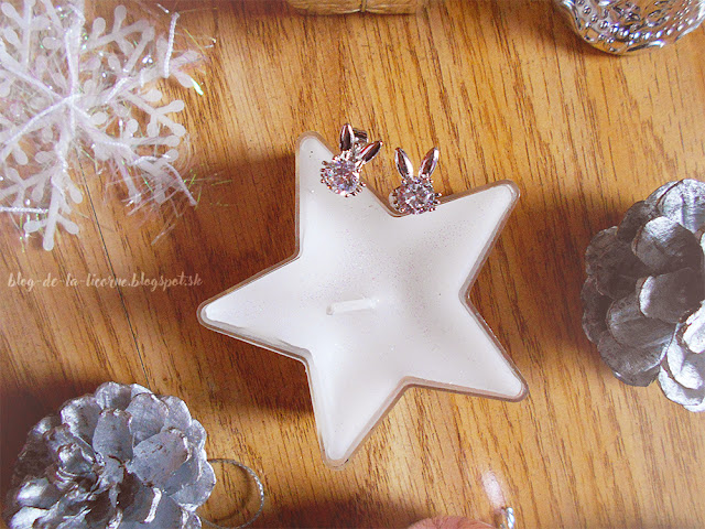 Rhinestone Rabbit Ear Stud Tiny Earrings