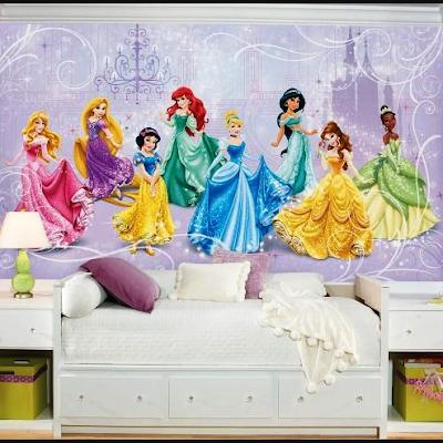 Desain Motif Wallpaper Kamar Tidur Anak Terbaik 2018 5
