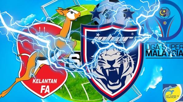 Live Streaming  JDT Vs Kelantan  [12.April.2017]