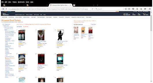It's a BEST SELLER! The Killer was No Lady RANKS # 3 on Amazon Kindle