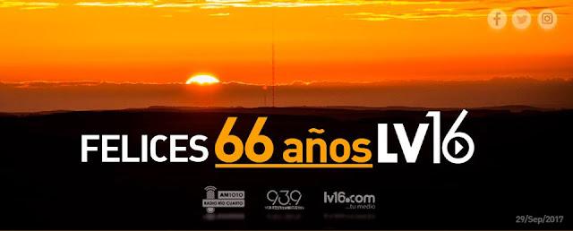 LV16 Radio Rio Cuarto - Argentina | AMP Mobile Radio
