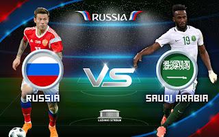 مواعيد مباريات المنتخب السعودي في الجولة الأولى بتوقيت الرياض ضد كلا من روسيا ، أوروجواي، مصر