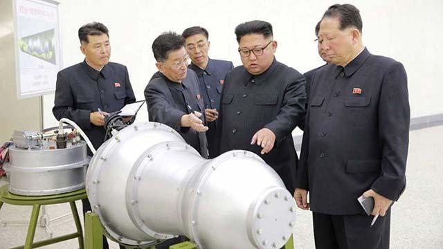 El mayor  de los terremotos registrados esta madrugada por una posible prueba nuclear en Corea del Norte ha tenido una magnitud de 6,3