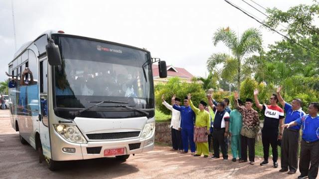 Semangati Atlet Bintan ke Popda Kepri di Lingga, Pemkab Siapkan Total Bonus Rp 100 Juta
