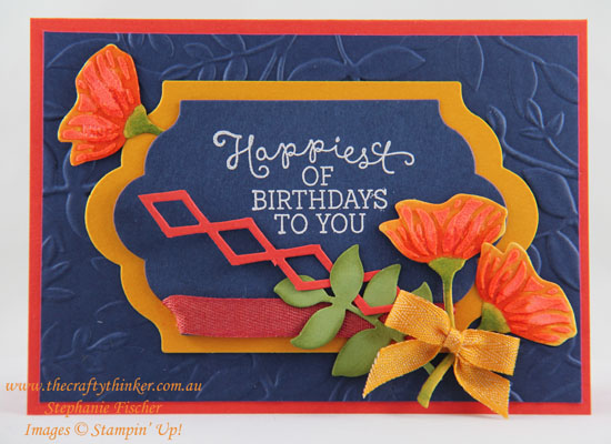 www.thecraftythinker.com.au, Eclectic Layers, Layered Leaves, #thecraftythinker, Stampin Up Australia Demonstrator, Stephanie Fischer, Sydney NSW