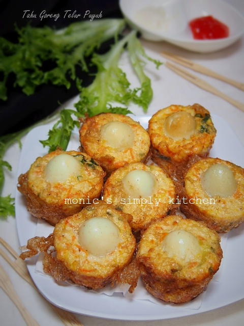 Tahu Telur Puyuh : telur, puyuh, Goreng, Telur, Puyuh, Monic's, Simply, Kitchen