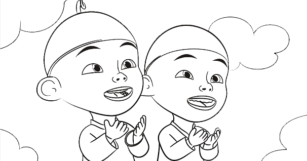 41+ Gambar Mewarnai Kartun Nussa Dan Rara Terupdate