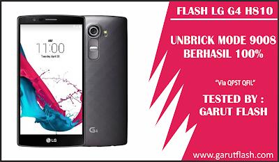 Cara Unbrick LG G4 H810 / H811 Flash 9008 Mode Normal Kembali