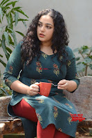 Nithya Menon promotes her latest movie in Green Tight Dress ~  Exclusive Galleries 010.jpg