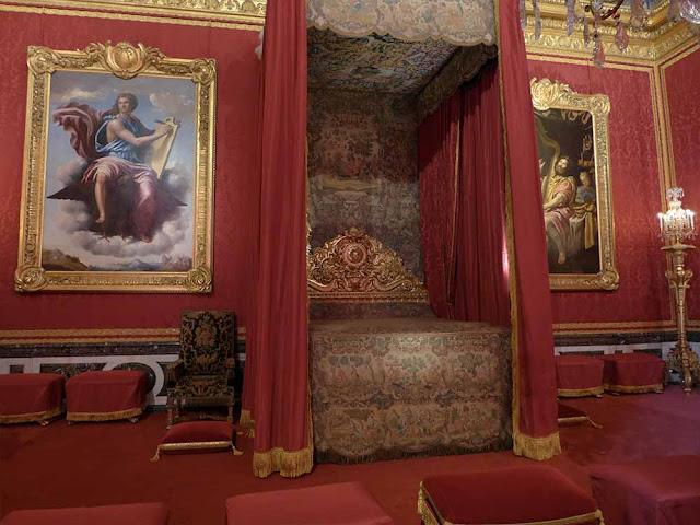 chambre château de versailles